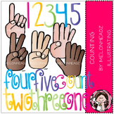 Counting clip art- by Melonheadz