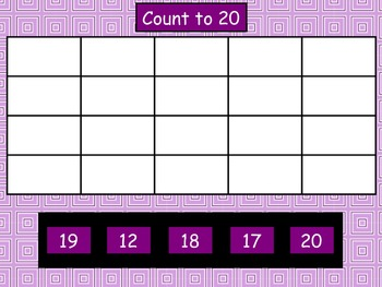 Counting by 1, 5, and 10 - Mimio Activity