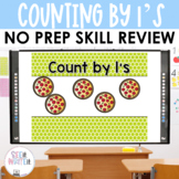 Counting by 1's - Number Sense Math Center Powerpoint See