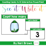 Counting by 1's St. Patty's Day Candy - See it Write it In