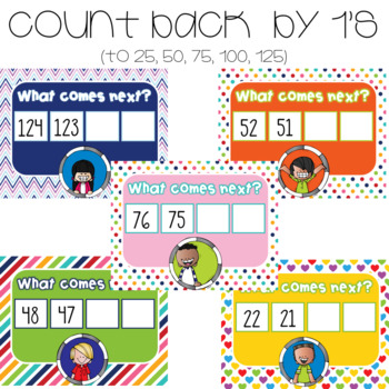 Counting by 1's to 120 Up & Back ~ For Google Drive & Google Classroom