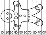 Counting by 10 Gingerbread Man Puzzle