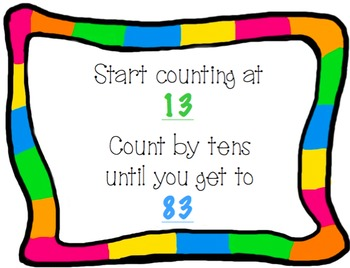 Counting by Tens *NOW EDITABLE*