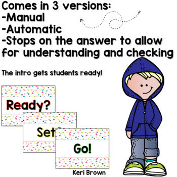 Counting by 10's - Number Sense Math Center Powerpoint See it Write it