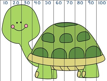 Counting by 10's Animal Fun