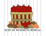 Counting by 10s Apple Barrel Math Puzzle