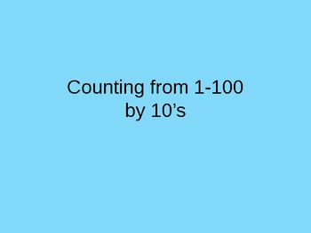 Counting by 10's Intervention