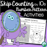 Counting by 10s Practice Pages - Distance Education