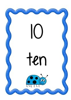 Counting by 10's posters
