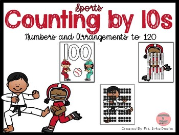Counting by 10s to 120- Sports Theme