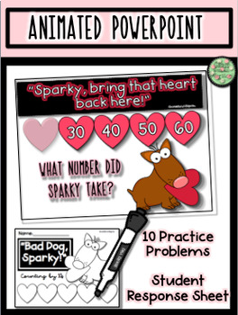 Counting by 10s with Sparky