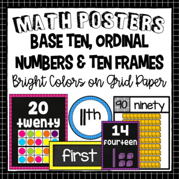 Ten Frames and Base Ten Posters