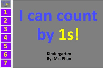Counting by 1s!