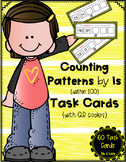 Counting Patterns by 1s (within 100) Task Cards