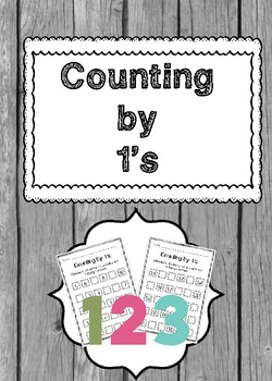 Counting by 1s Worksheets