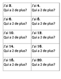 Counting by 2 - French
