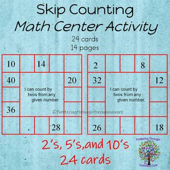 Skip Counting by Twos, Fives, and Tens
