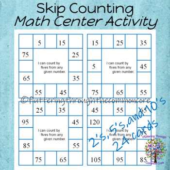 Skip Counting by 2's 5's 10's