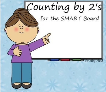 Counting by 2's for the SMART Board