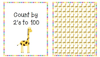 Counting by 2s, 5s, 10s, 20s to 100 PDF