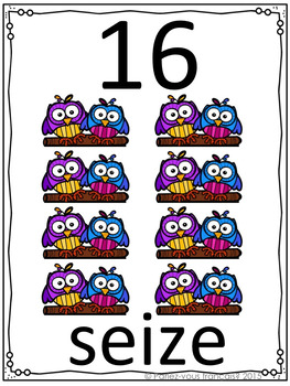 Counting by 2s, 5s,10s in French- Visuals and activities