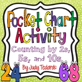 Counting by 2s, 5s, and 10s Pocket Chart Activities