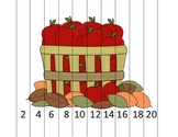 Counting by 2s Apple Barrel Math Puzzle