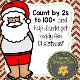 Christmas Skip Counting, Colour book and 24 B&W worksheets for grades 1/2