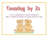 Counting by 2s - Differentiated Math Center