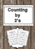 Counting by 2s Worksheets