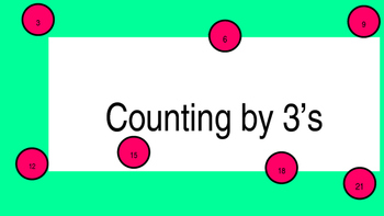 Counting by 3's