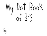 Counting by 3's Dot Book