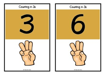 Counting by 3s on Shamrocks