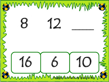 Counting by 4s - Using counters