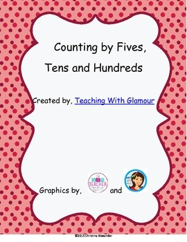 Counting by 5's, 10's, and 100's