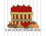 Counting by 5s Apple Barrel Math Puzzle