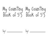 Counting by 5's Book