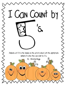 Counting by 5's Fall Theme