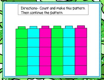 Counting by 5's Pattern Mats