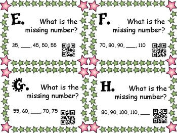 Counting by 5s and 10s Task Cards