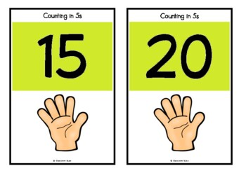 Counting by 5s on Hands