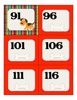 Counting by 5's with Fido & Friends