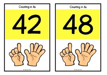 Counting by 6s on Ladybugs