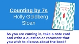 Counting by 7s Book Club Discussion