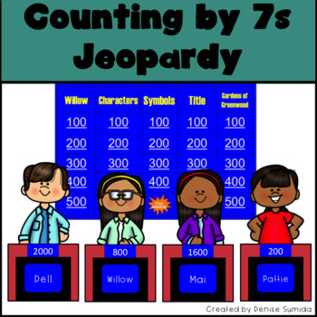 Counting by 7s by Holly Goldberg Sloan Jeopardy