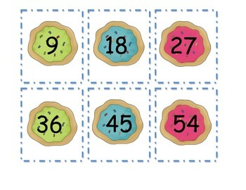 Counting by 9's with Cookies