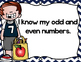 Counting by Even and Odd Numbers to 120