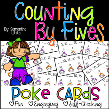 Counting by Fives {Poke Cards}
