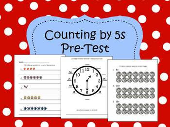 Counting by Fives, Pre/Post-Test