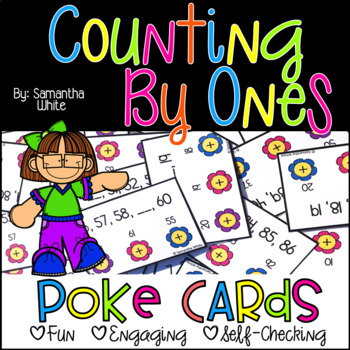 Counting by Ones {Poke Cards}